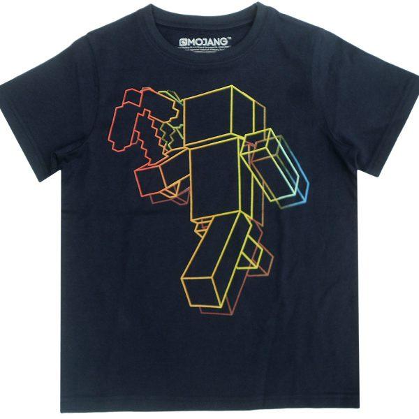 minecraft-t-shirt-negru
