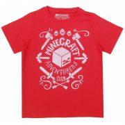 tricou minecraft original rosu