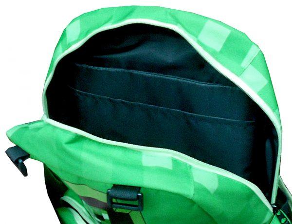 ghiozdan creeper verde