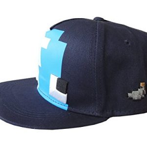 sapca minecraft diamond blue