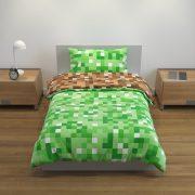 lenjerie minecraft verde