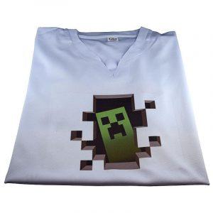 Tricou personalizat Minecraft creeper
