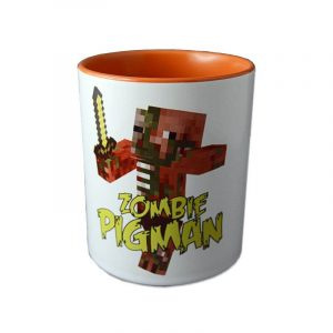 cana personalizata Minecraft zombie pigman